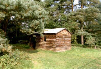 Onkel Jo's Hütte - vor fast 45 Jahren