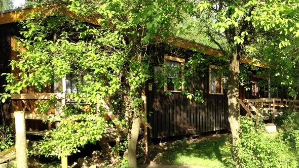 Rustikaler Holzbungalows Wochenendhaus für 2 Personen in Land Kamerun
