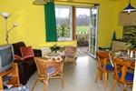 Wohnzimmer der Ferienwohnung für 2 - 4 Personen in Land Kamerun