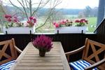 Balkon der Ferienwohnung für 2 Personen in Land Kamerun