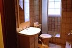 Badezimmer der Ferienwohnung für 3 Personen in Land Kamerun