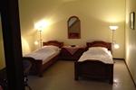 Schlafzimmer der Ferienwohnung für 3 Personen in Land Kamerun