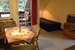 Wohnraum der Ferienwohnung für 3 Personen in Land Kamerun