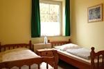 Kleines Schlafzimmer der 57m² Wohnung auf dem Reiterhof