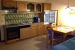 Küche der Wohnung