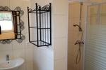 Badezimmer des Landhauszimmer im Gruppenhaus in Land Kamerun