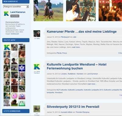 Unser Soziales Netzwerk: Kamerun Blog