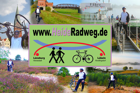 Heide Radweg - Radfahren Lüneburger Heide Elbtalaue Wendland