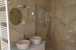 Badezimmer der Kamerun Komfort-Lodge für 4 Personen in Land Kamerun