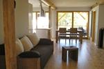Wohnzimmer der Kamerun Komfort-Lodge für 4 Personen in Land Kamerun