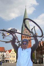 Fahrrad Navigation GPS Heide Radweg Lüneburger